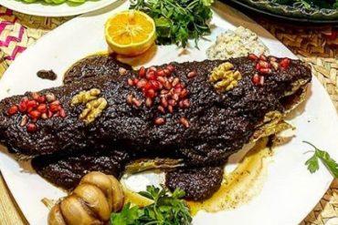 ماهی سفید در بهترین رستوران گیلانی شهرک غرب