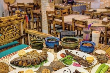 غذای اصلی رستوران گیلانی شهرک غرب