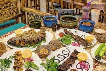 غذای اصلی در رستوران گیلانی شهرک غرب